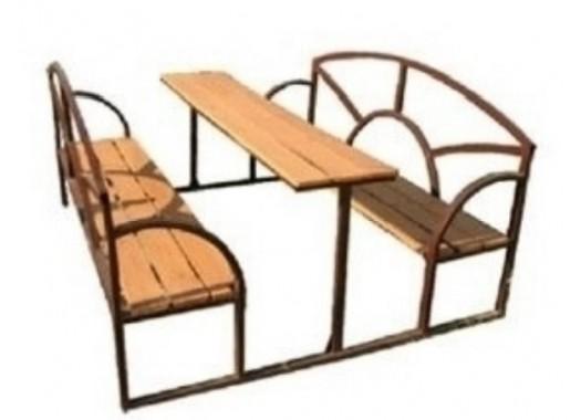 Стол со скамьями 12.35.26