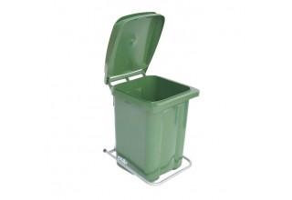 Пластиковый контейнер для мусора 60 с педалью