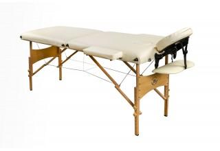 Складной массажный стол Bodyfit (деревянный)
