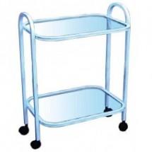 Стол 2-х полочный, полки стекло