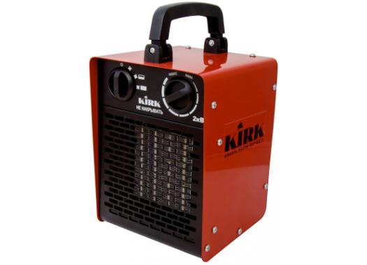 Нагреватель электрический 2кВт, 220В, керам. эл-т, прямоугол. корпус ELF-02/1 KIRK