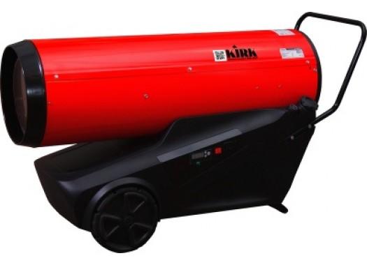 Нагреватель дизельный 64кВт, 220В, прямой нагрев, пласт.бак 78л, авто DIR-65P KIRK