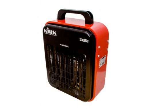 Нагреватель электрический 3кВт, 220В, эл-т нерж. сталь, прямоугол. корпус, ELF-03/3 KIRK