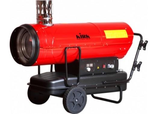 Нагреватель дизельный 80кВт, 220В, непрямой нагрев, бак 69л, авто IND-80 KIRK