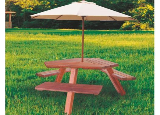 Зонт садовый P150R6302