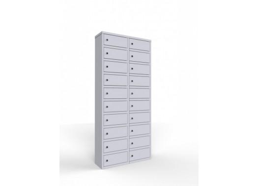 Шкаф модульный на 20 ячеек для мобильных телефонов