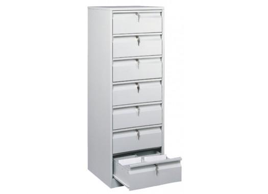Картотечный шкаф ТК7 (без перегородок)