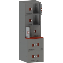 Гардеробный шкаф для вещей и сумок КХС 10