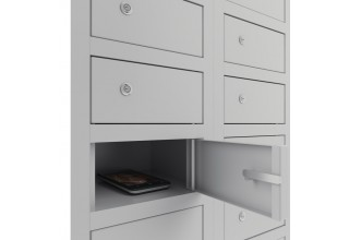 """Шкаф для хранения моб. телефонов """"Сотовик-117 L200"""" (доп. секция)"""