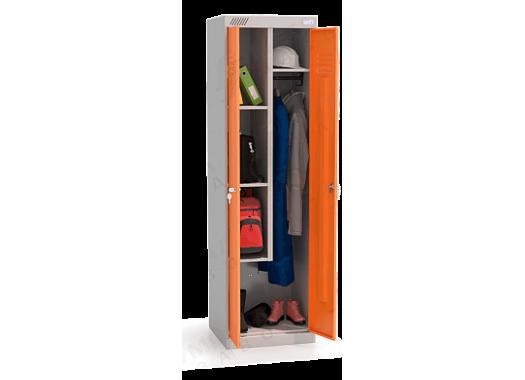 ШМУ 22-530 Шкаф универсальный с оранжевыми дверьми
