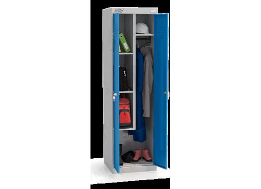 ШМУ 22-530 Шкаф универсальный с синими дверьми