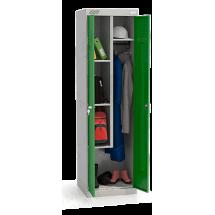 ШМУ 22-530 Шкаф универсальный с зелеными дверьми