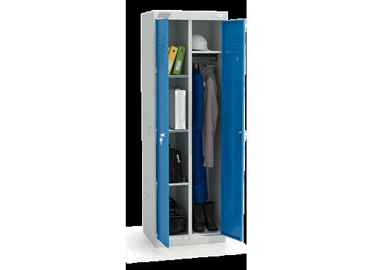 ШМУ 22-600 Шкаф универсальный с синими дверьми