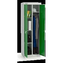 ШМУ 22-600 Шкаф универсальный с зелеными дверьми