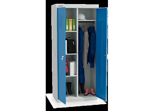 ШМУ 22-800 Шкаф универсальный с синими дверьми