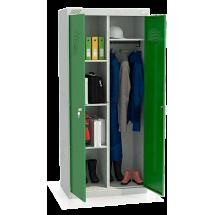 ШМУ 22-800 Шкаф универсальный с зелеными дверьми