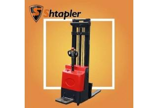 Штабелер электрический самоходный Shtapler CTD 1.5 х 3.5M с откидной площадкой
