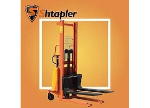 Штабелер гидравлический с электроподъемом Shtapler JC-BDD 1Т х 3М
