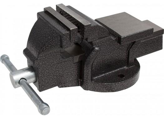 Тиски слесарные с наковальней 200 мм, KERN