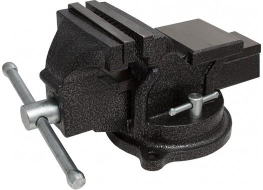 Тиски слесарные с наковальней поворотные 200 мм, KERN