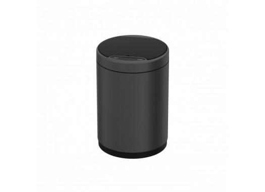 Сенсорное мусорное ведро JAVA Midy 12L Dark Gray