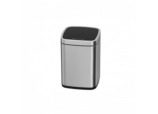 Сенсорное мусорное ведро JAVA Rome 9L Matt Steel