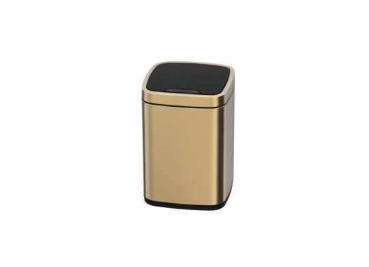 Сенсорное мусорное ведро JAVA Rome 9L Champagne Gold