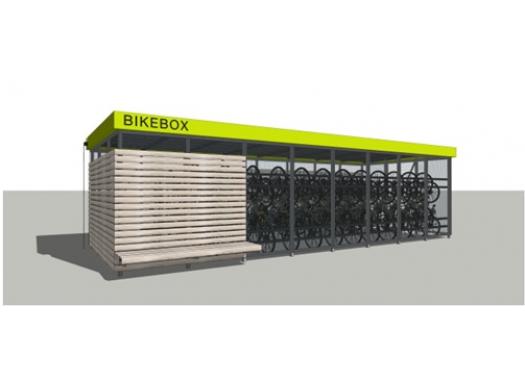 Велобокс (велостоянка)
