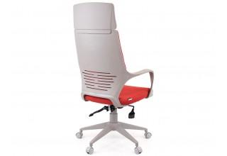 Кресло Trio Grey (ткань красная)