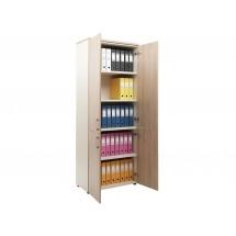Шкаф NW 2080/4 закрытый вяз натуральный / бежевый