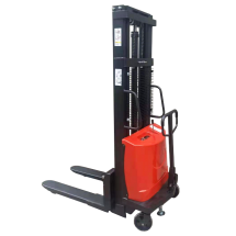 Штабелер гидравлический с электроподъемом Shtapler SPN 1,5т х 3м (AS)