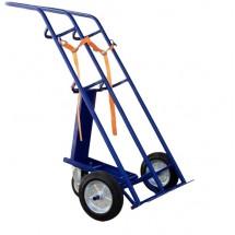 Тележка для перевозки 2-х баллонов КП 2 (колёса d 250 литая резина + d160 опорное), шт
