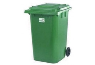 Пластиковый контейнер для мусора 360