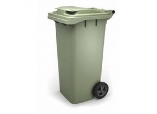Пластиковый контейнер для мусора TС-120 (РФ)