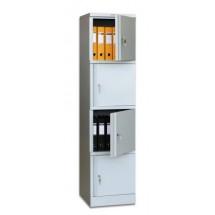 Архивный шкаф металлический AM-1845/4