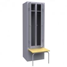 Гардеробный шкаф для одежды ШР-22 600 ОСК