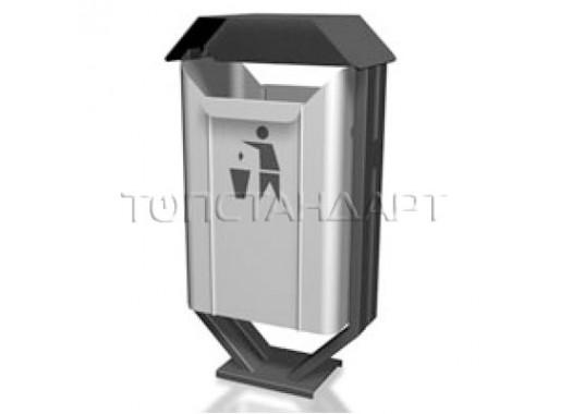 Урна уличная для сбора мусора 12.34.59