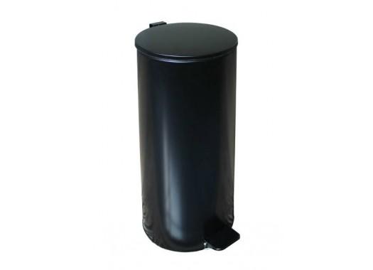 Урна с педалью черная (30 л)