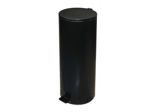 Урна с педалью черная (50 л)