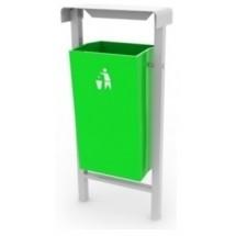 Урна уличная для сбора мусора 12.34.56