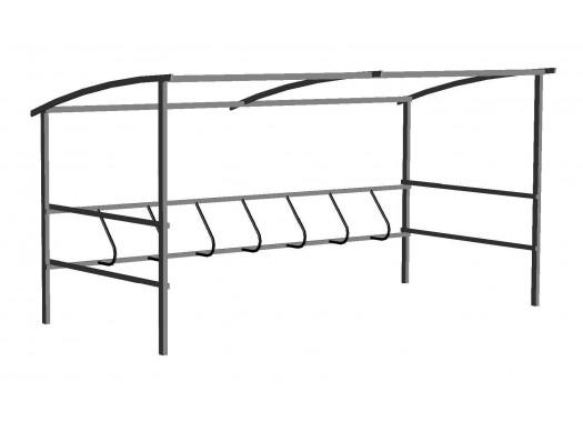 Велопарковка крытая ТС-1